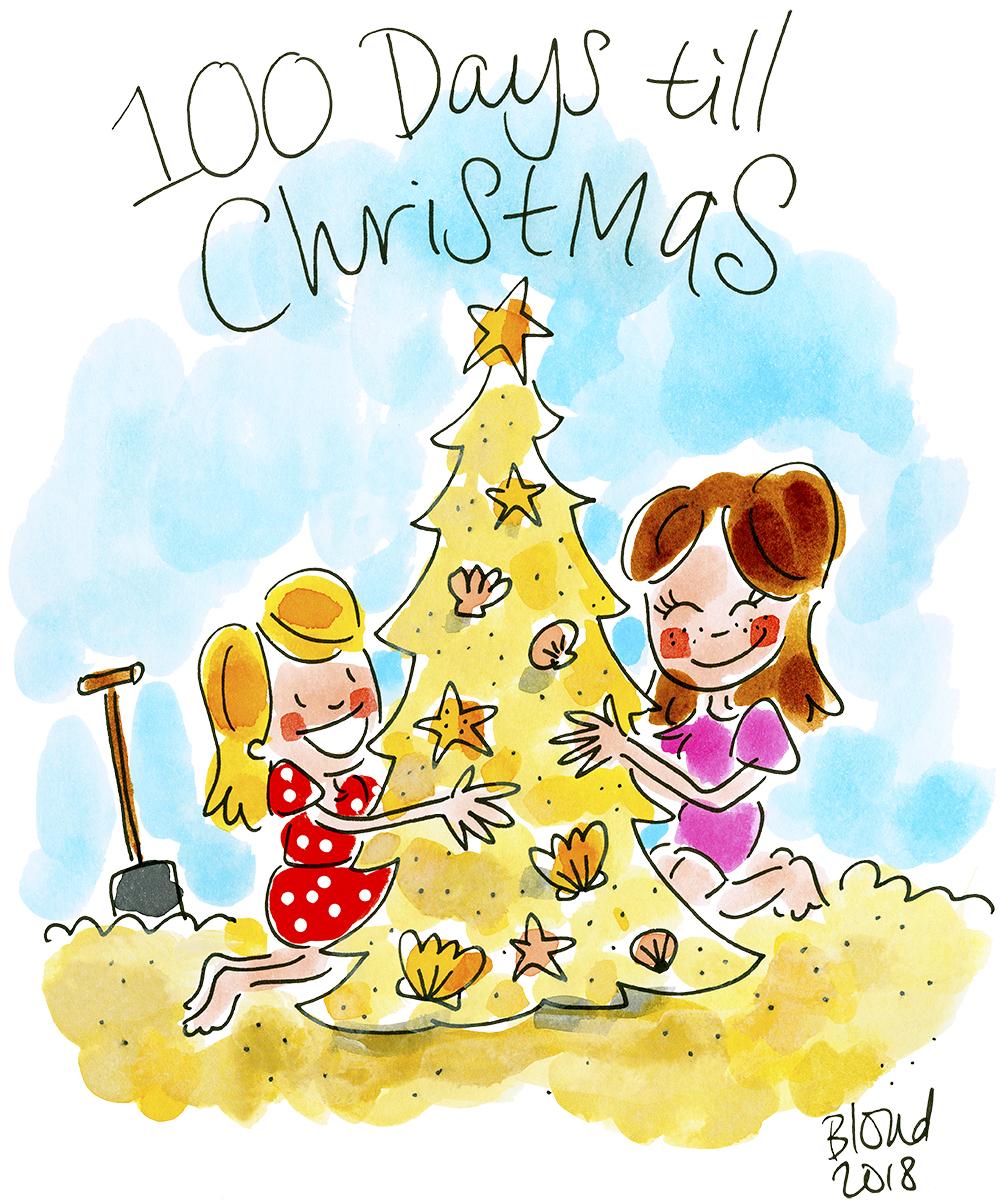 Days Until Christmas 2019.100 Days Until Christmas