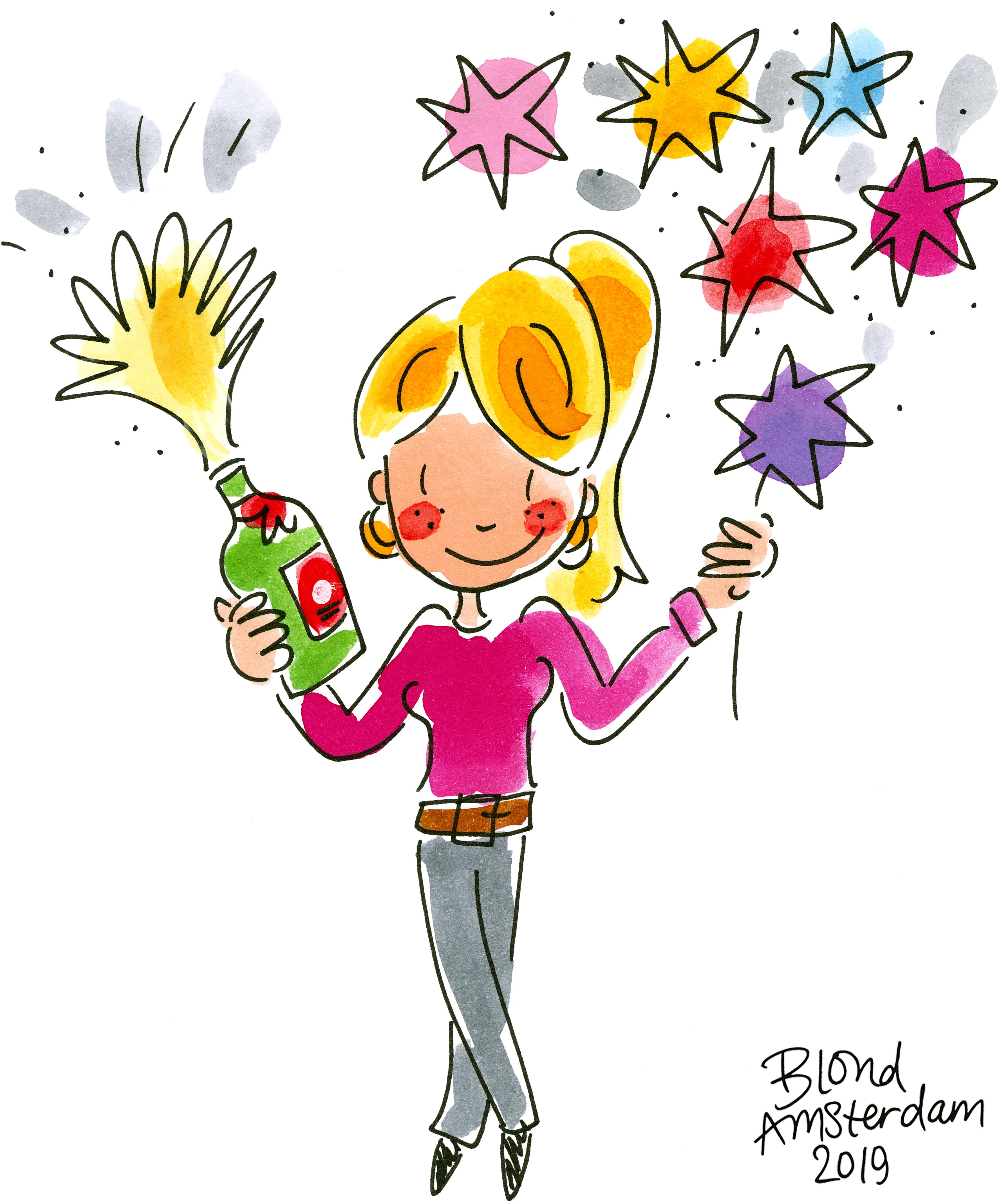 Verrassend HAPPY NEW YEAR | BLOND AMSTERDAM CM-05