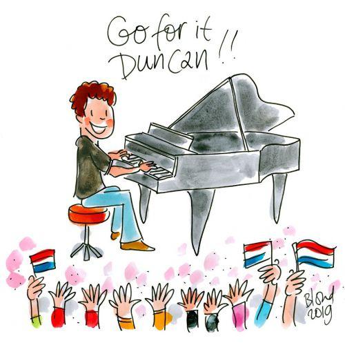 Good luck Duncan!