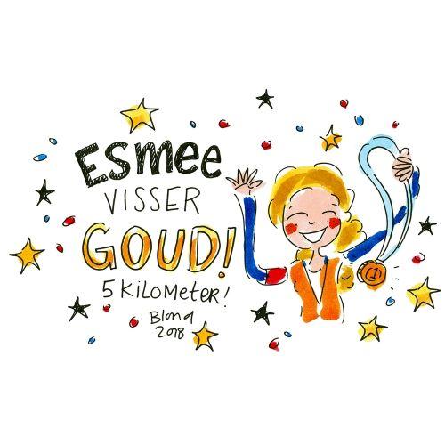 Geweldig!! Well done Esmee Visser!