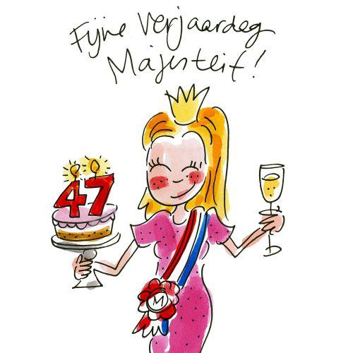 Fijne verjaardag Majesteit!