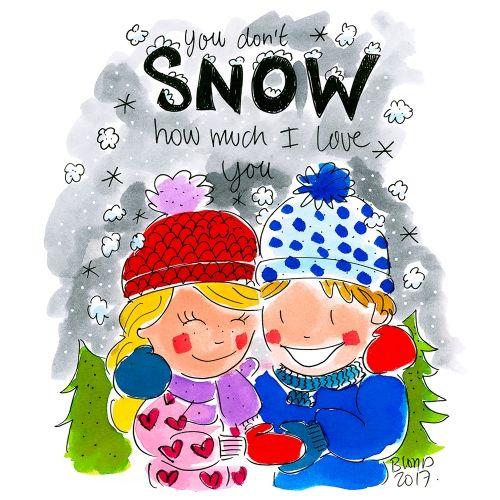 Code sneeuw!