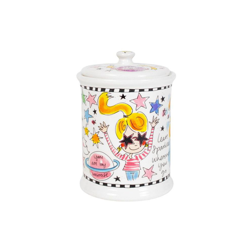14.95.0040-SCHOOL-UNIVERSE-BLOND STORAGE JAR0