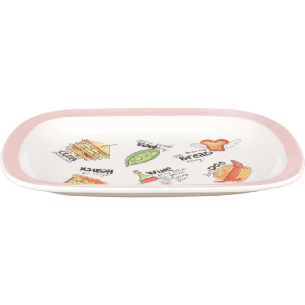 Blondelicious platte schaal creme/roze Blond-Amsterdam