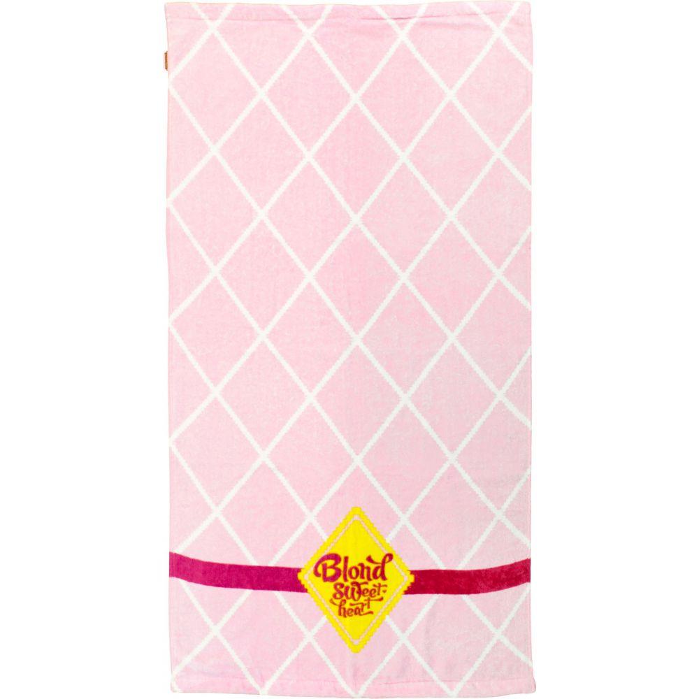 169501-SWEET-handdoek-roze-ruit-klein1