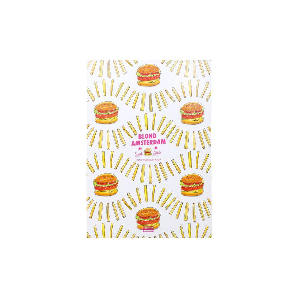 Schrift A4 lijn Hamburger Snack Attack Blond Amsterdam