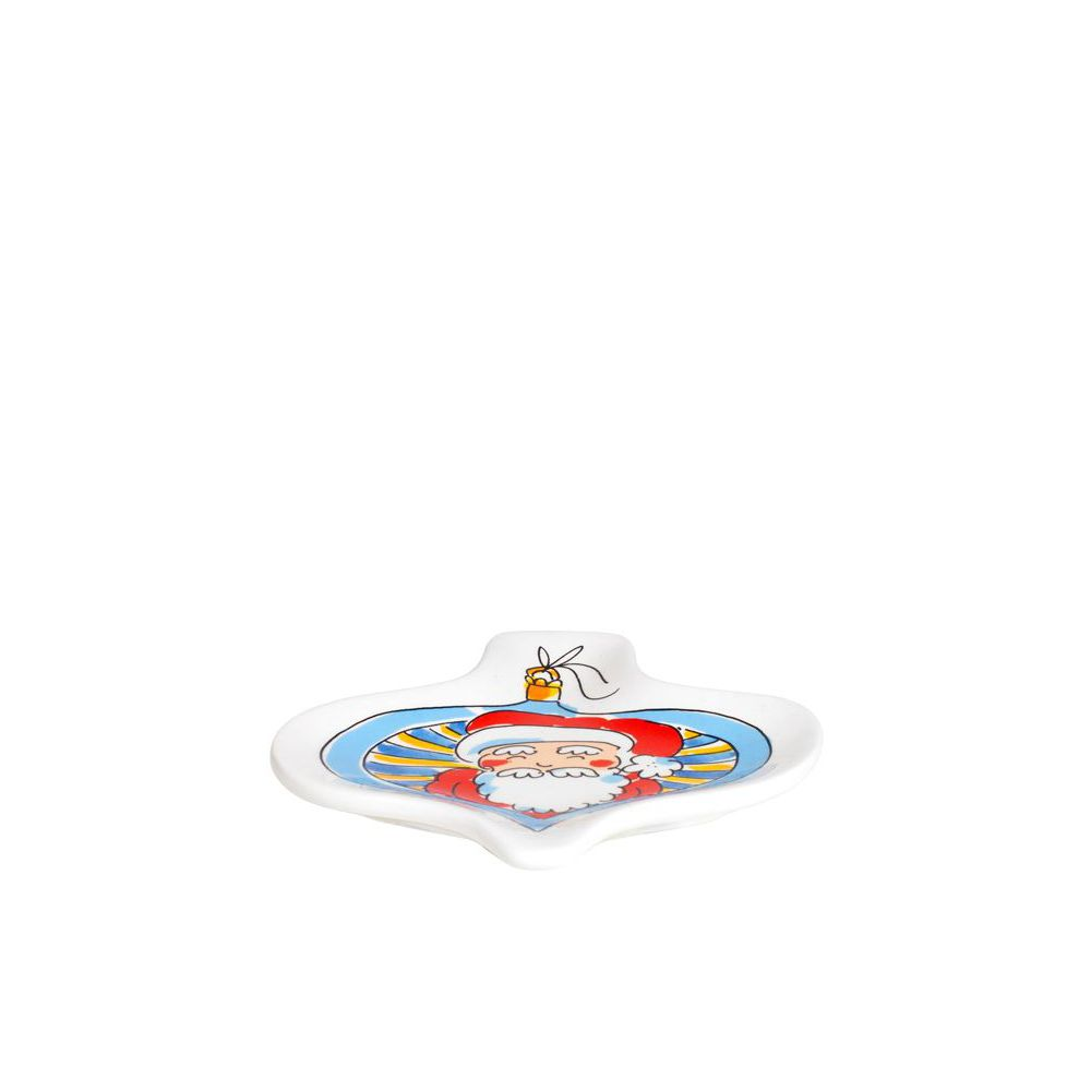 200962-SPE- CHRISTMAS 3D PLATE SANTA1