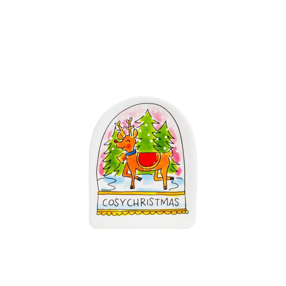 200963-SPE-CHRISTMAS 3D PLATE COSY CHRISTMAS0