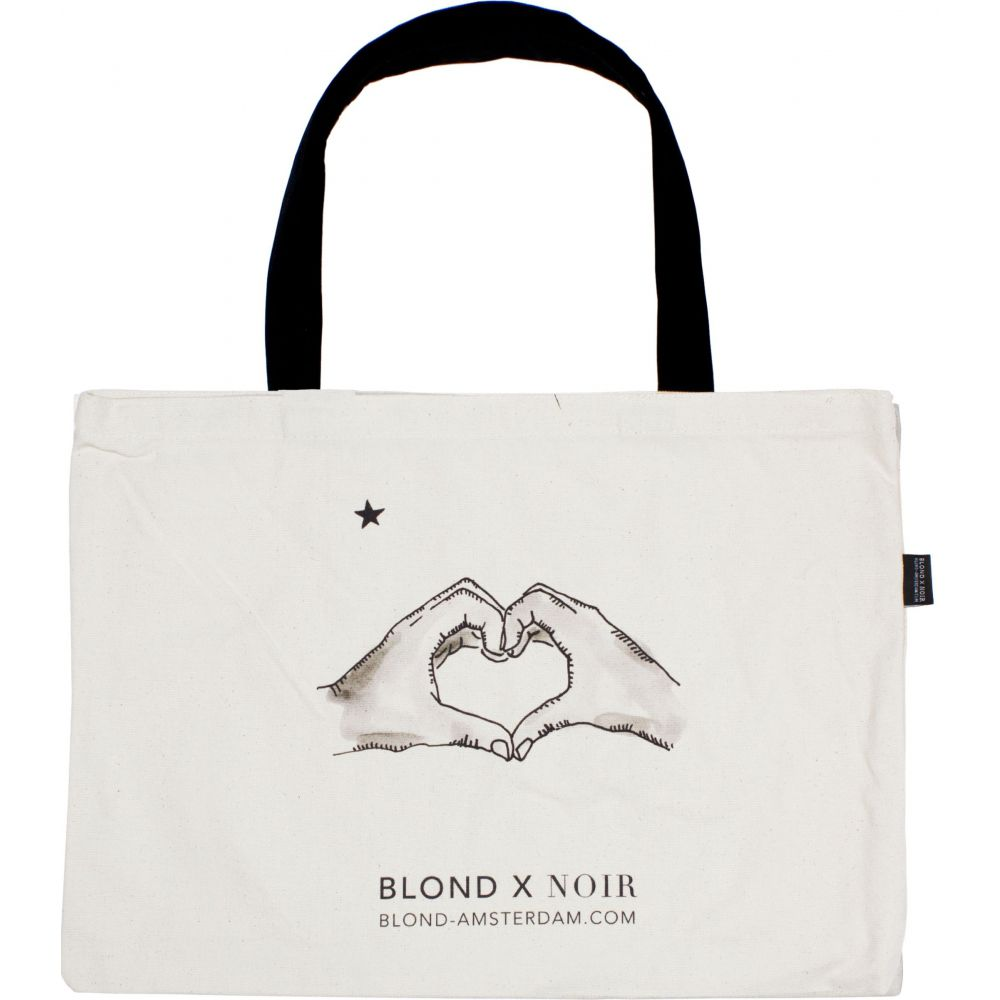 200987-BLOND NOIR-CANVAS BAG 2