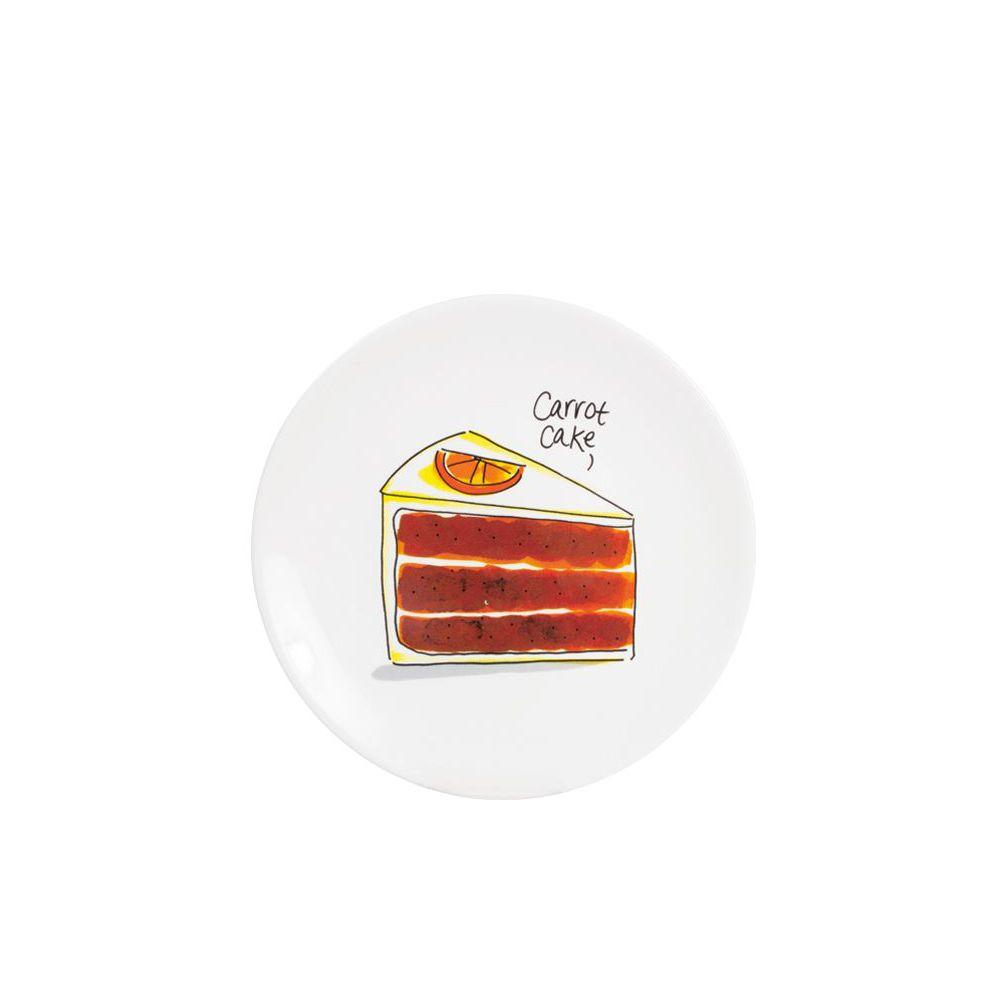 201249-SPE-CAKE PLATE 18 CM-CARROT CAKE0