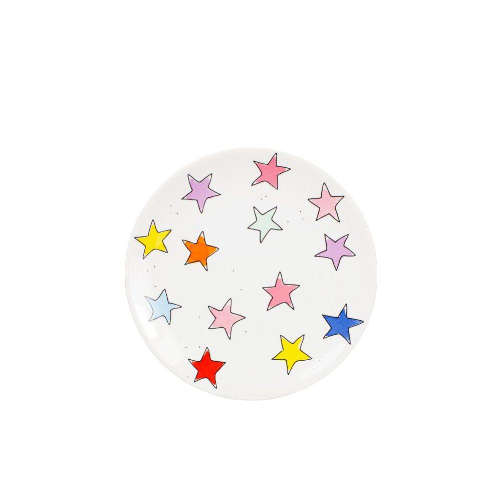 JUISTE, 201308-SPE-PLATE 18CM PINK STARS-0
