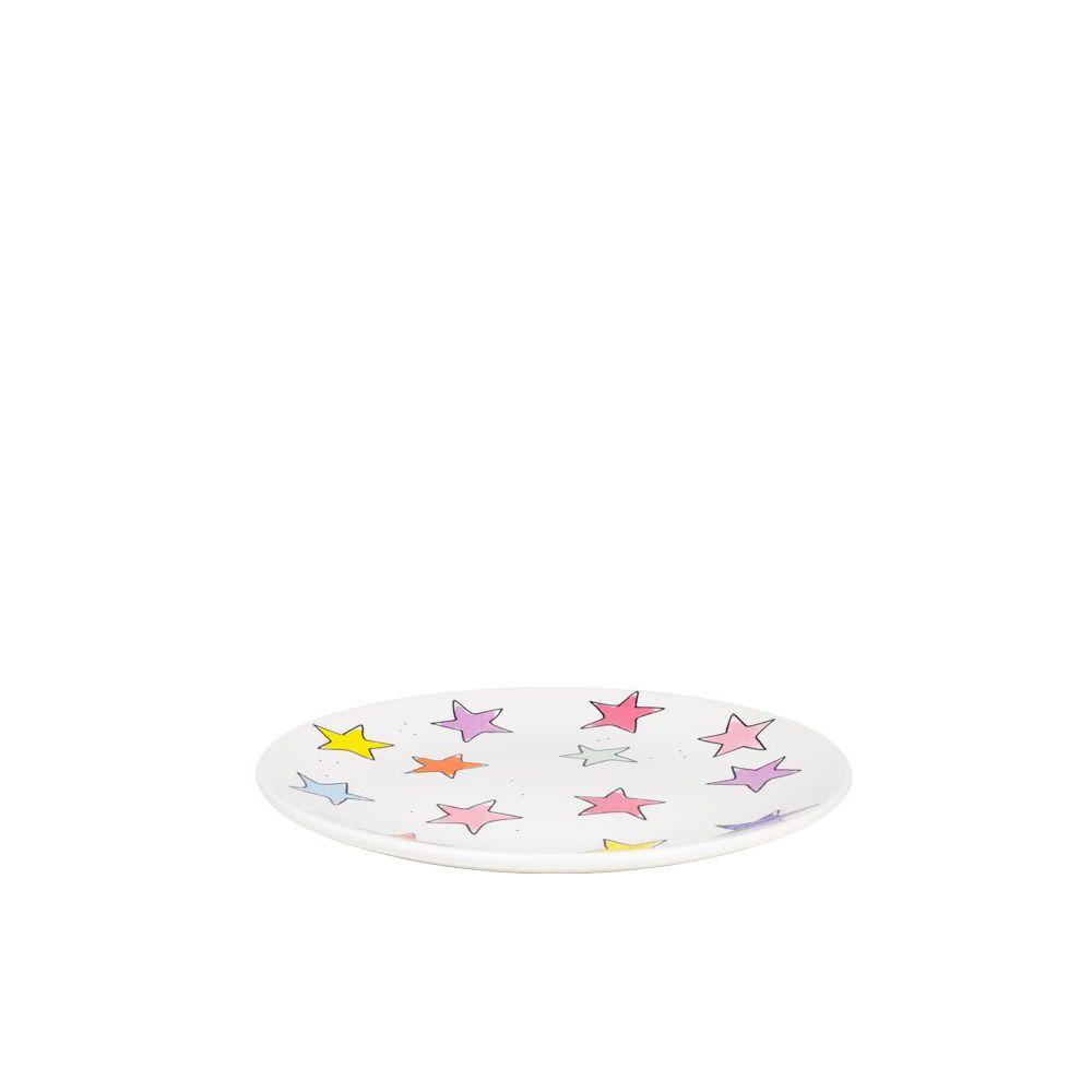 JUISTE, 201308-SPE-PLATE 18CM PINK STARS-1
