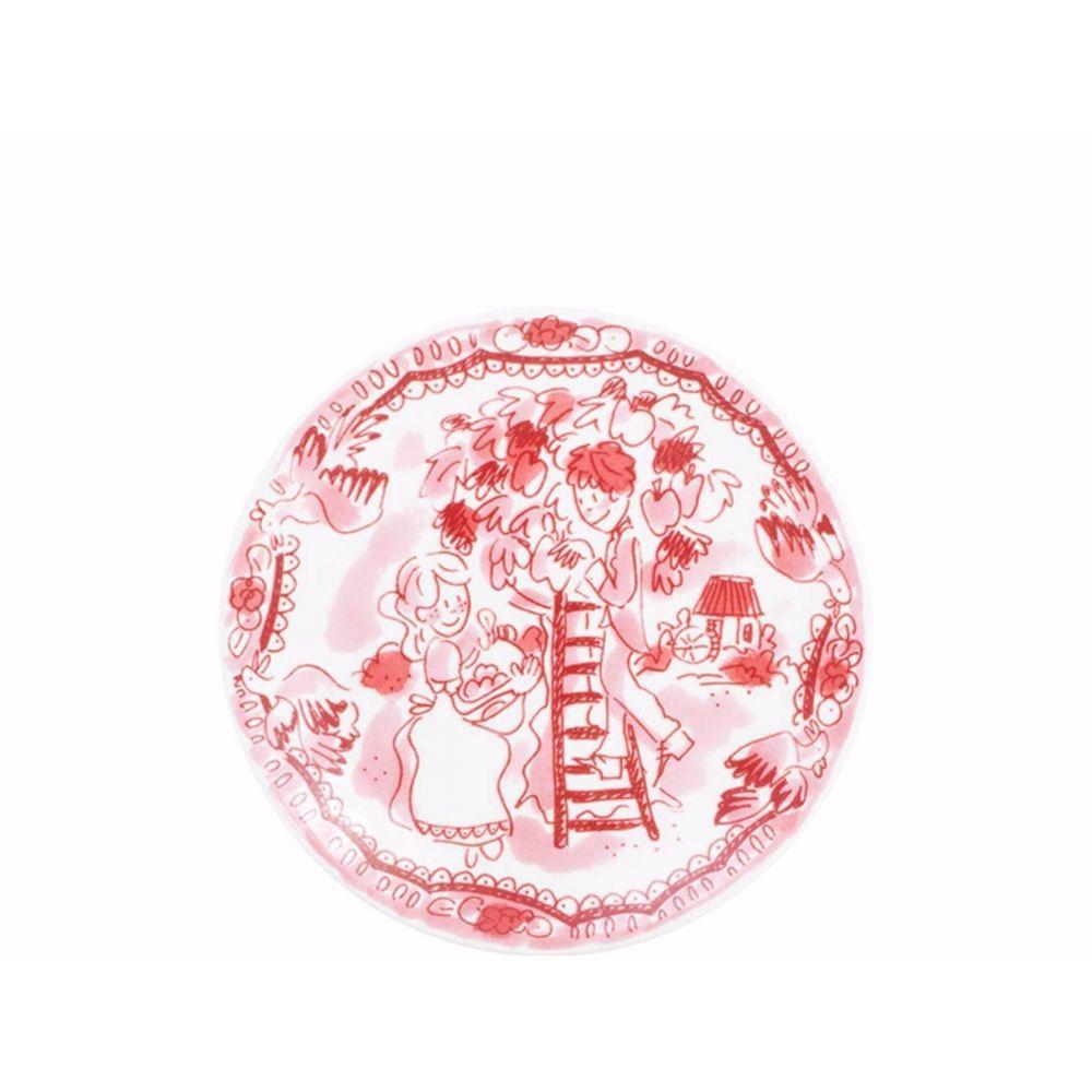 200019-bord 12 cm romance rose