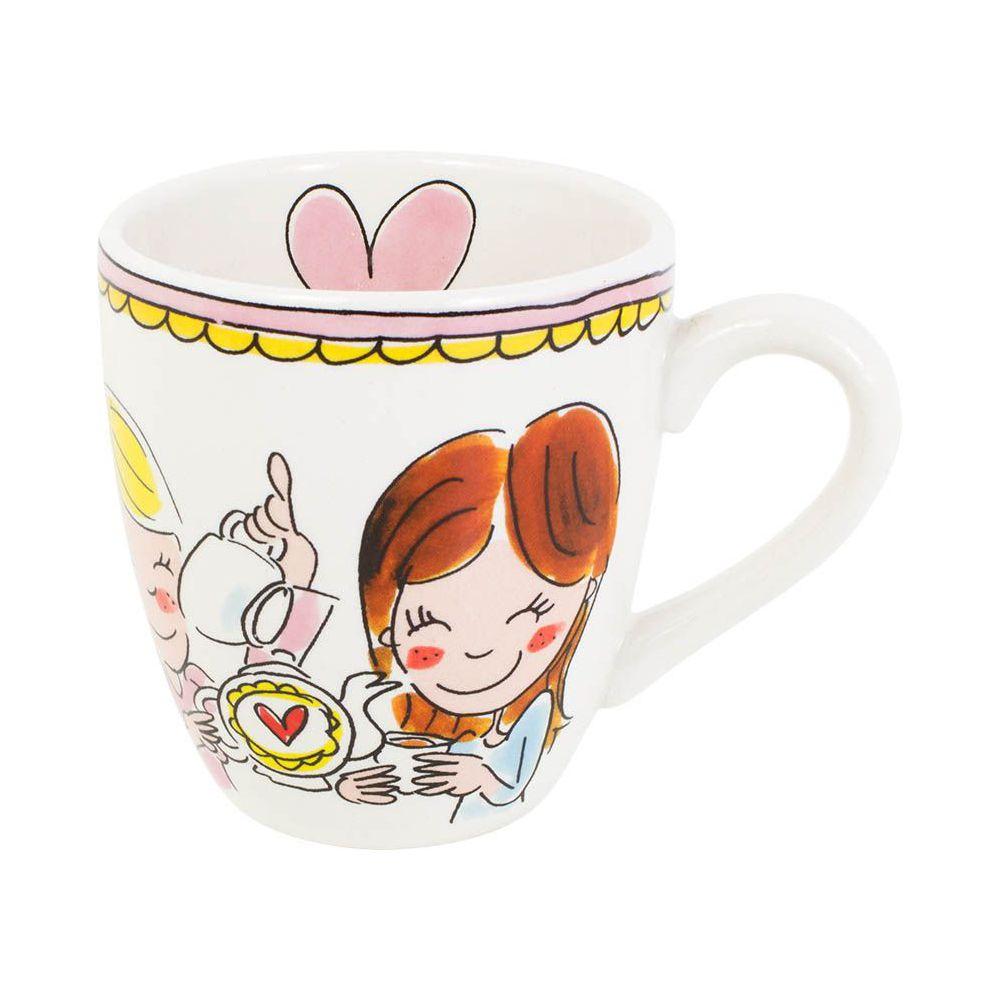 200044 mini mug pink tekst0