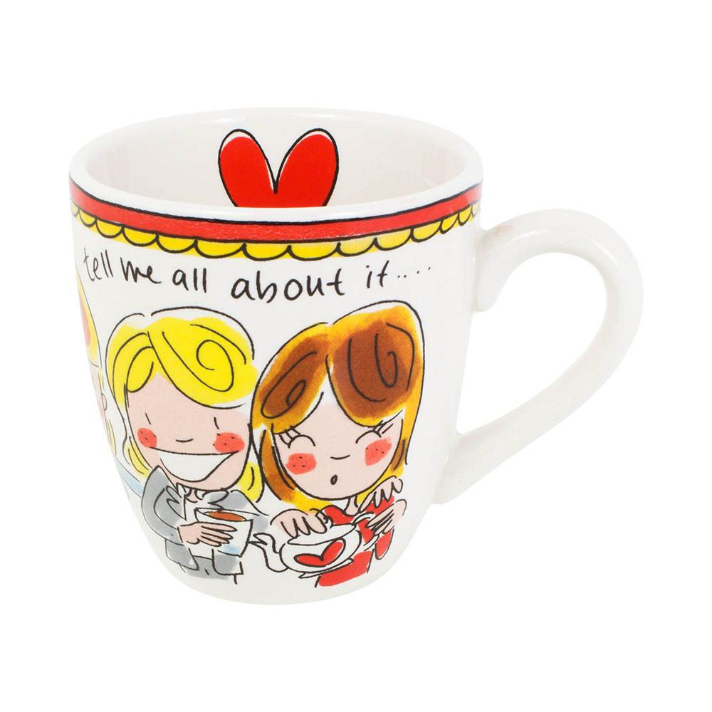 200045 mini mug red tekst0