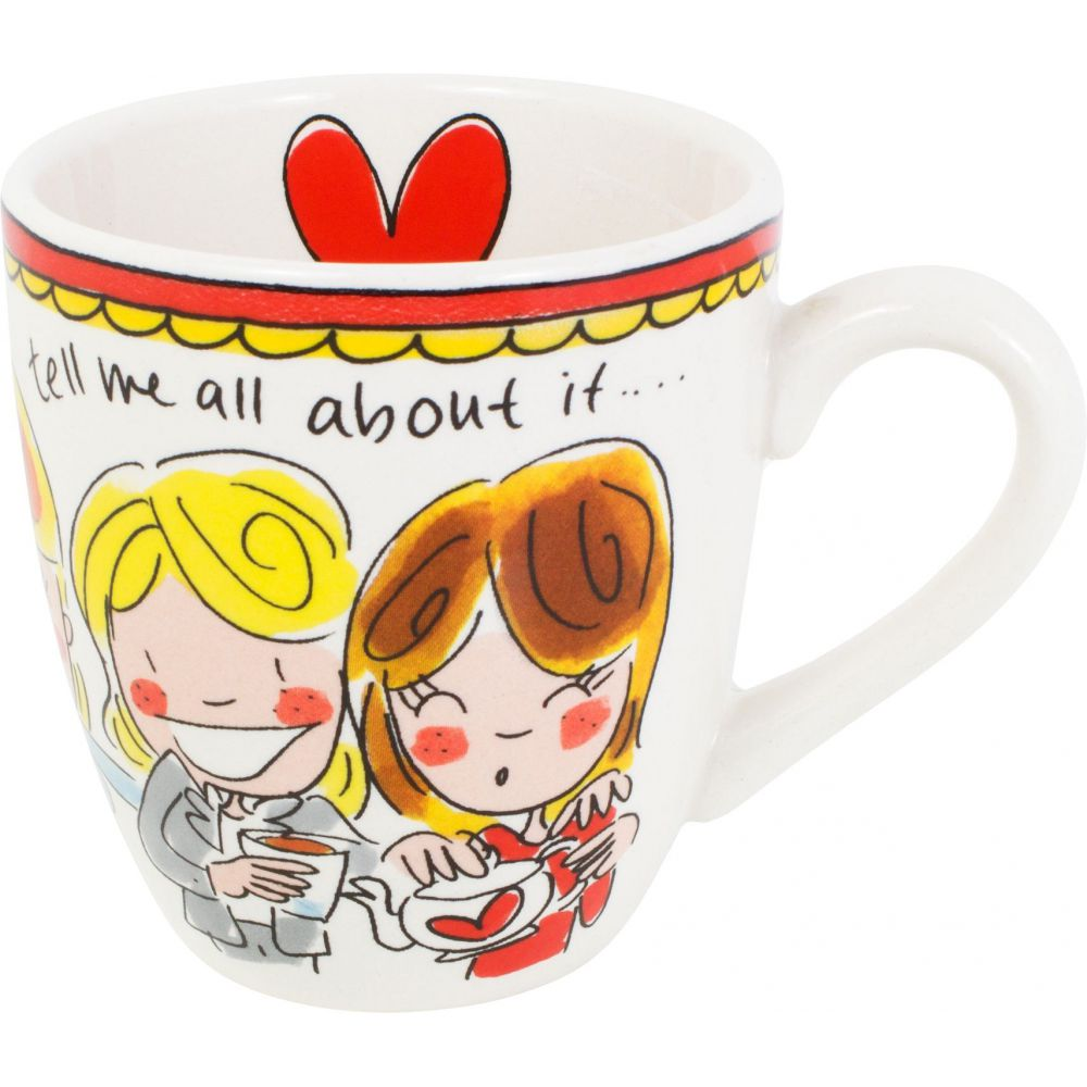 200045 mini mug red tekstHR1