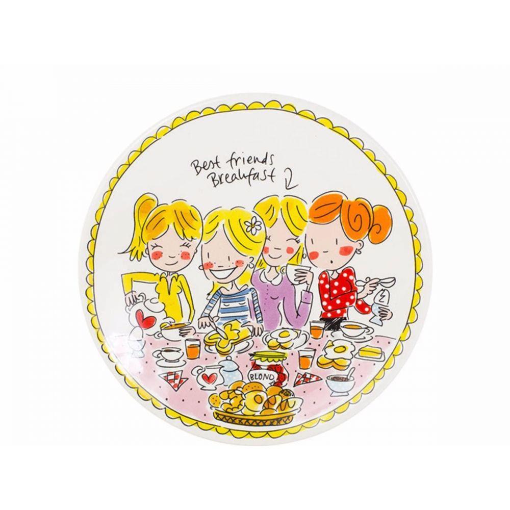 200050-plate 22 cm girls1