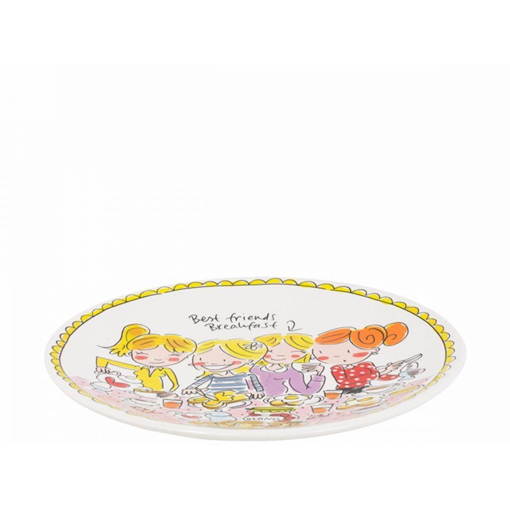 200050-plate 22 cm girls2