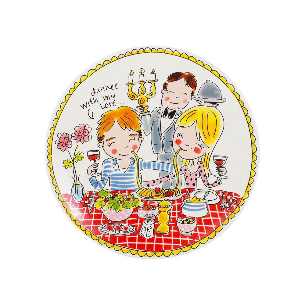 200052-plate 26 cm love0
