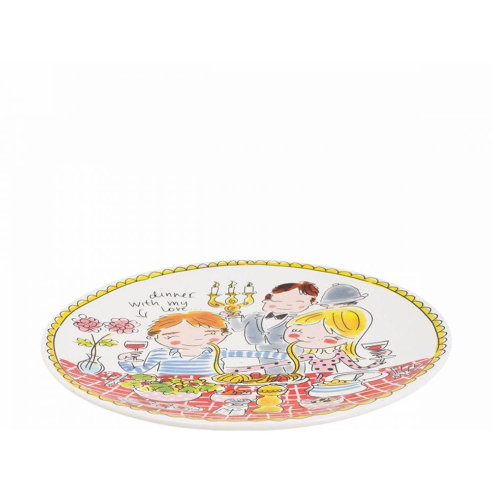 200052-plate 26 cm love1