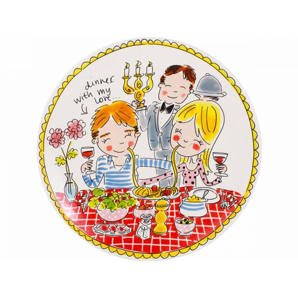 200052-plate 26 cm loveHR