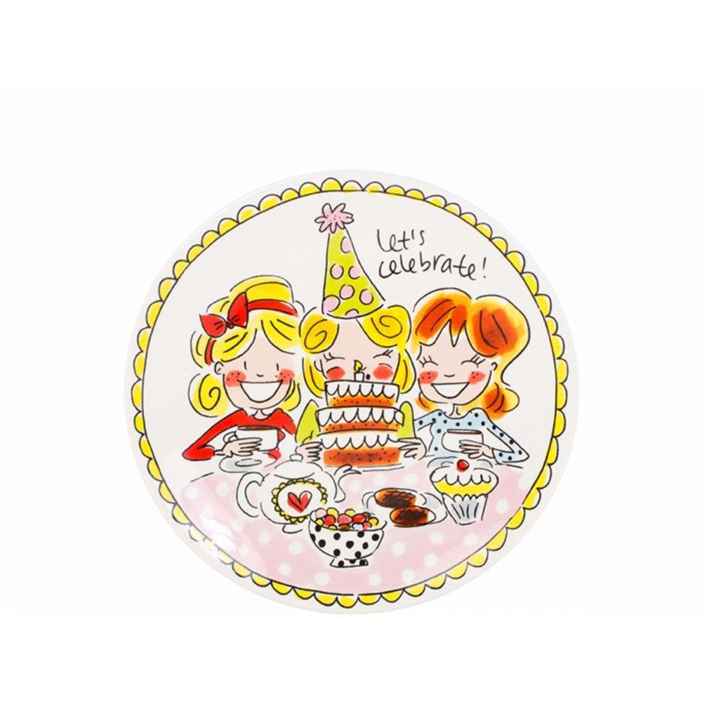 200054-plate 18 cm girlHR
