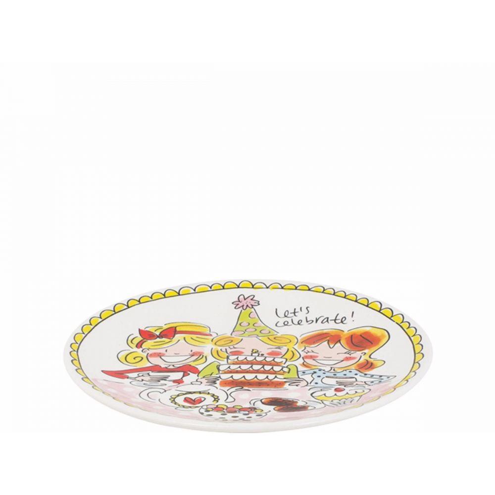 200054-plate 18 cm girls1