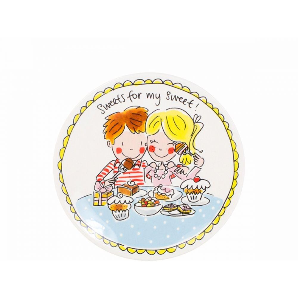 200055-plate 18 cm loveHR