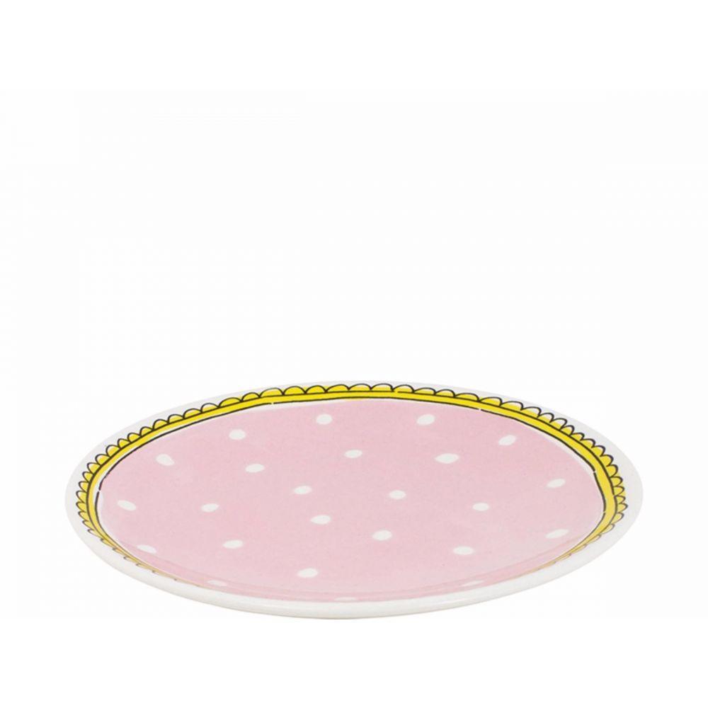 200058-plate 18 cm dot1