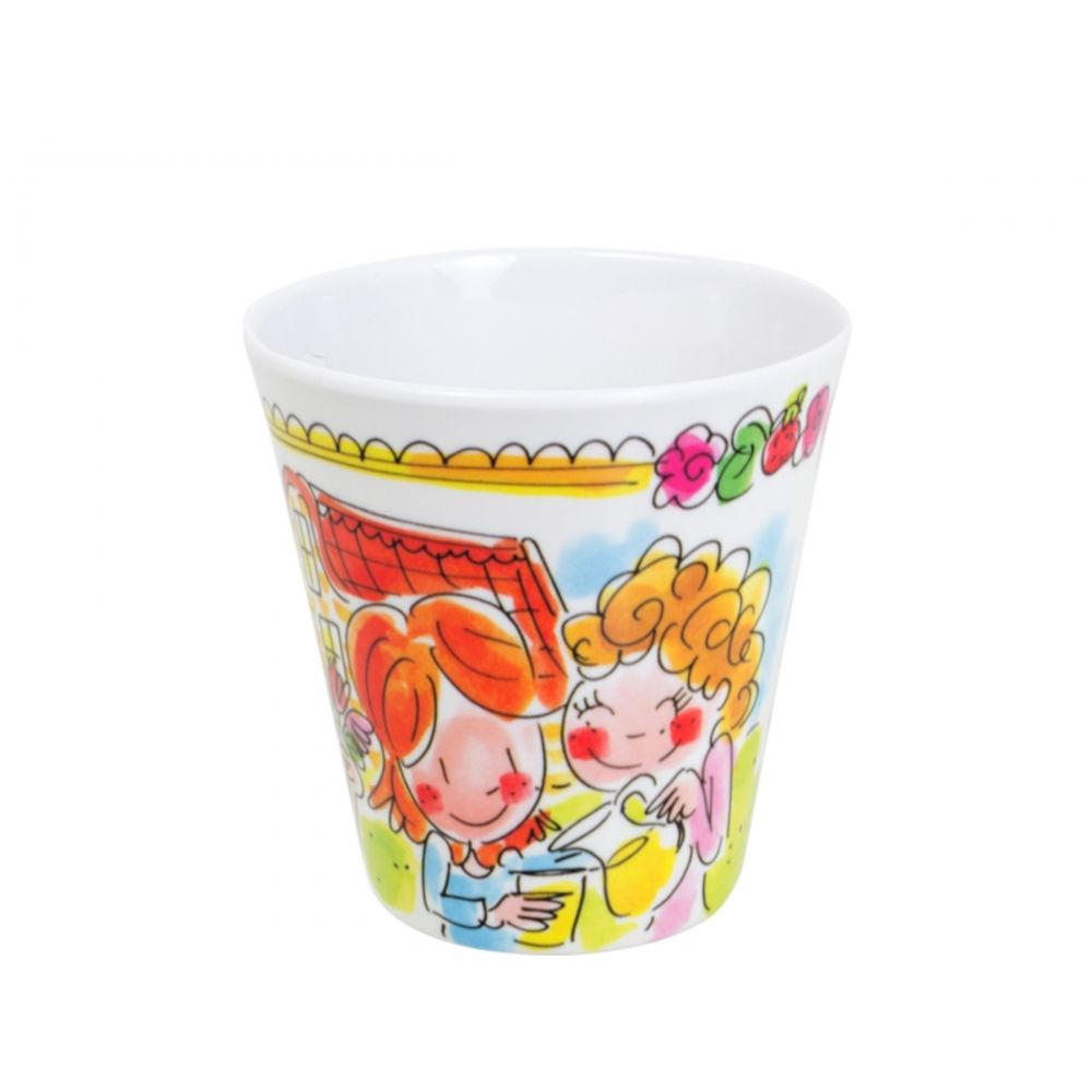 Blond Amsterdam Melamine beker Friends 0,2L