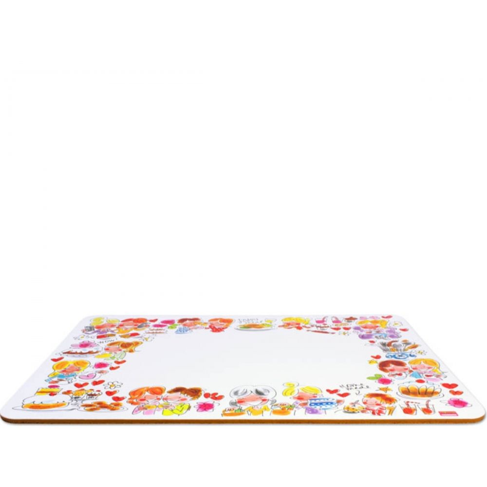 Blond Amsterdam Placemat Even Bijkletsen rand decor