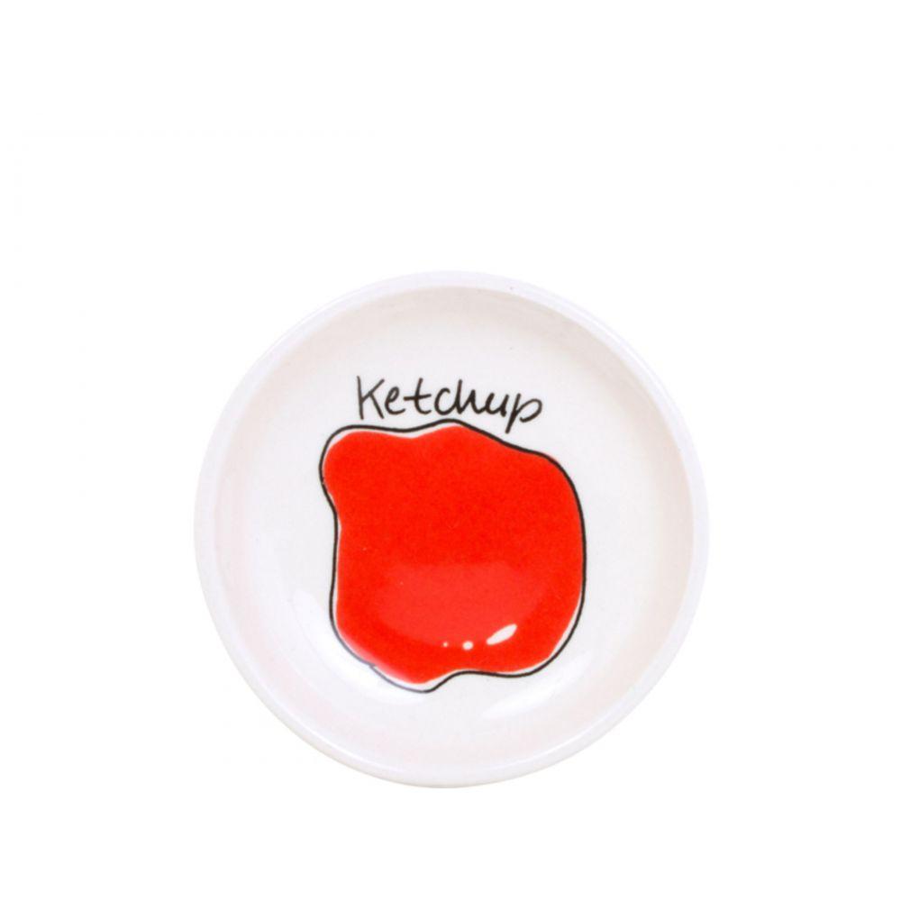 Snack bakje Ketchup ø8cm van Blond-Amsterdam