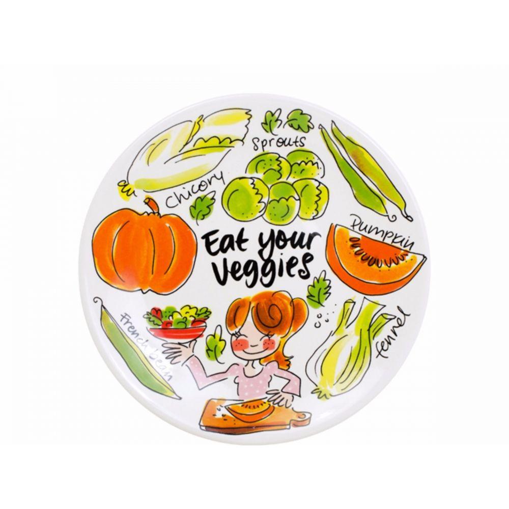 Onbijtbord Pumpkin Fruit & Veggies van Blond-Amsterdam