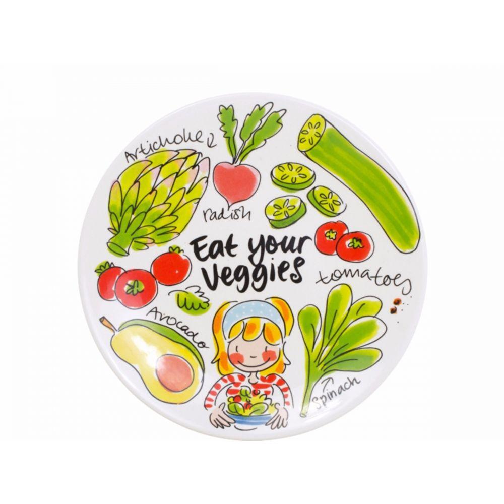 Ontbijtbord Avocado Fruit & Veggies van Blond-Amsterdam