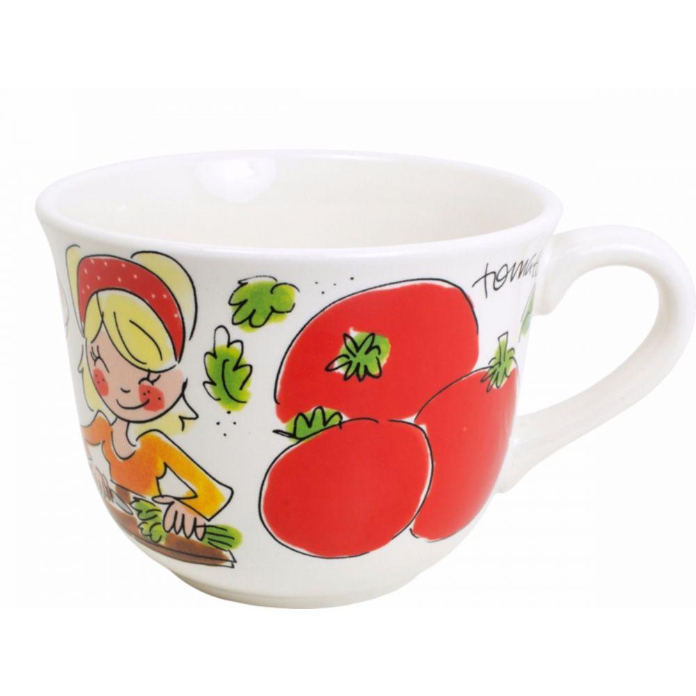 Soepkom Tomato Fruit & Veggies van Blond-Amsterdam