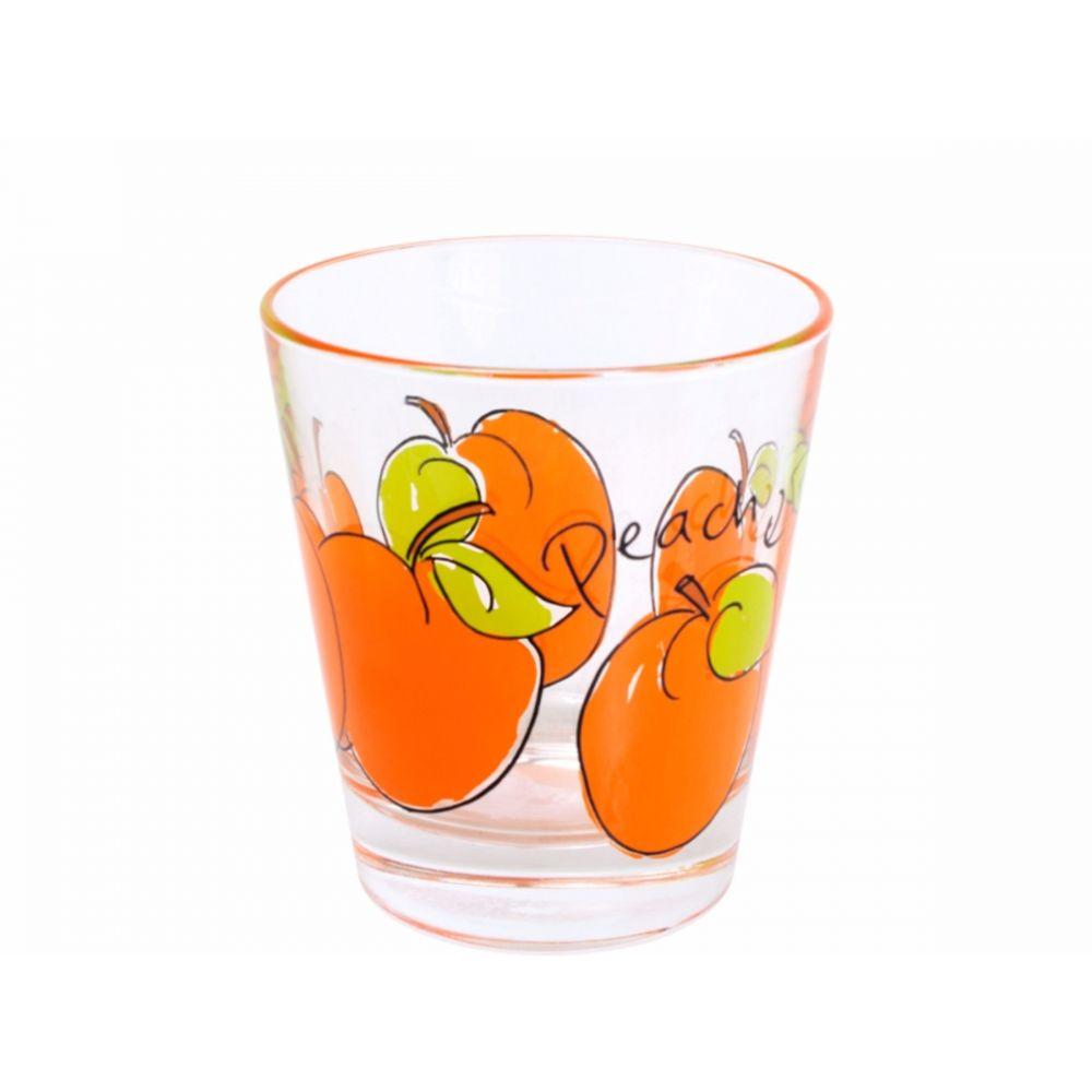 Sapglas Peach Fruit & Veggies van Blond-Amsterdam
