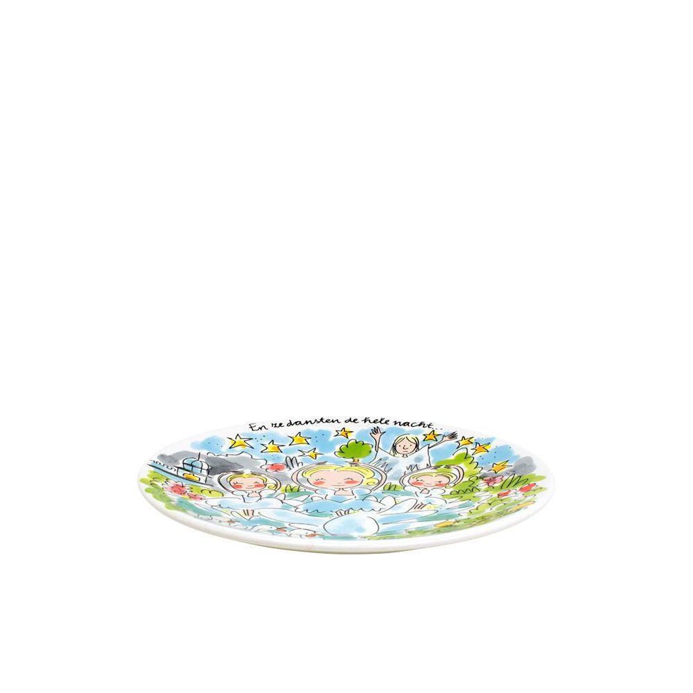 200653-EFT-plate22cm-indische waterlelies1