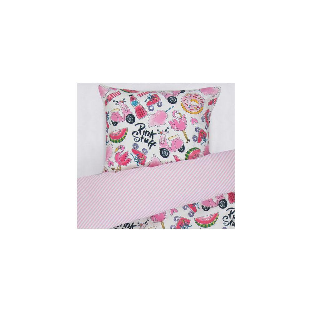 Dekbedovertrek Pink Stuff 1p set 140x200 + 60x70 Blond Amsterdam