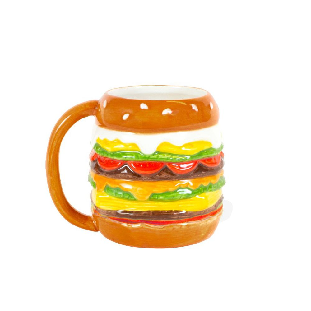 200783-SPE-SNACK HAMBURGER 3D MUG-2