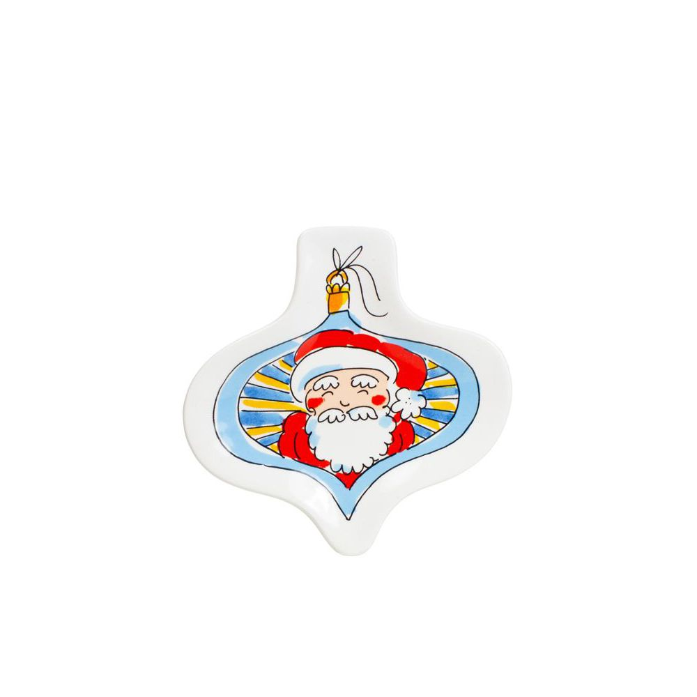 200962-SPE- CHRISTMAS 3D PLATE SANTA0
