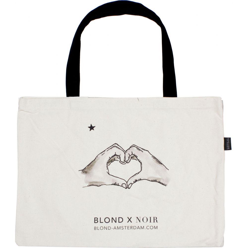 200987-BLOND NOIR-CANVAS BAG 2