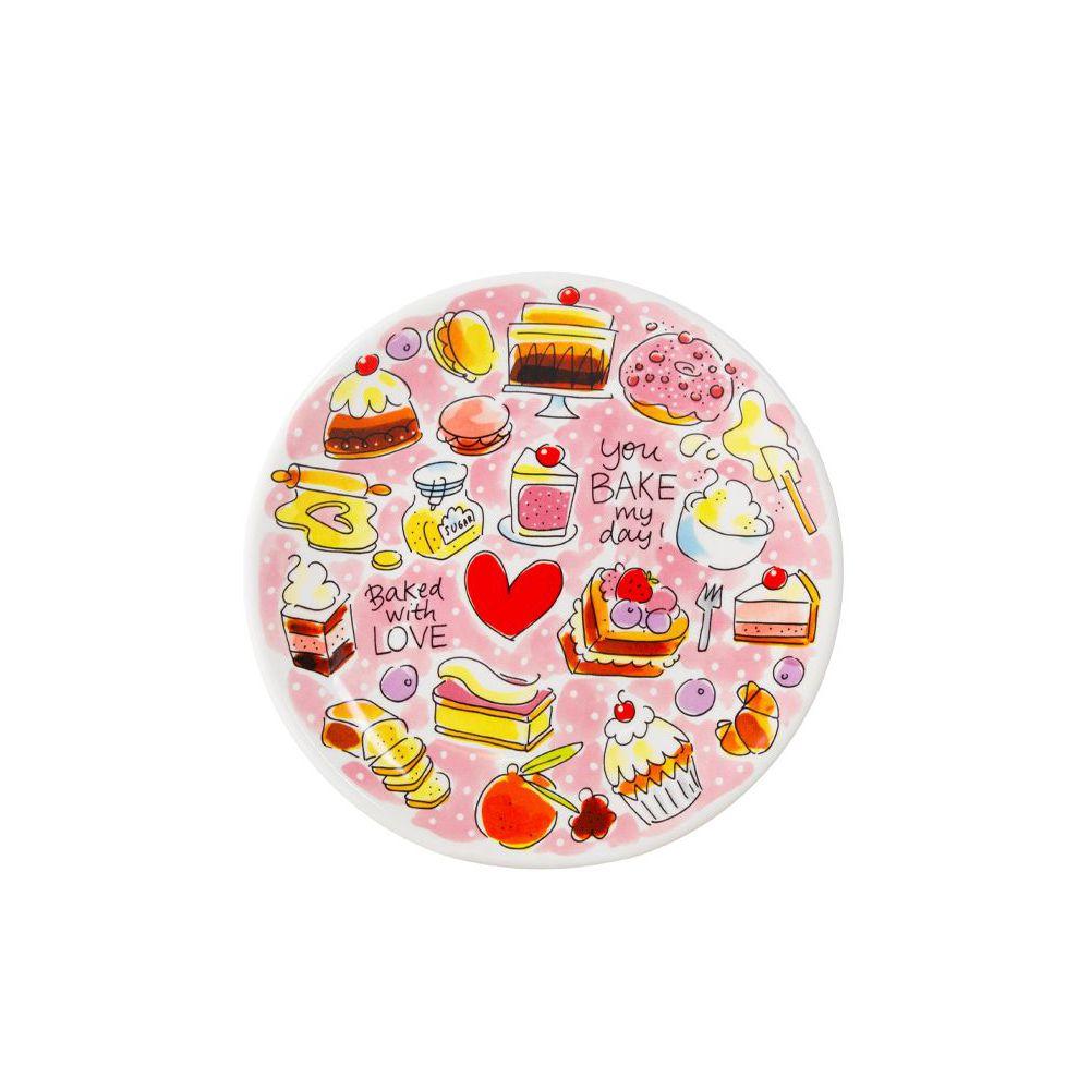201179-BAKE-Ontbijtbord 22 cm-Cake-0
