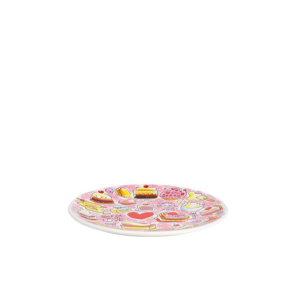 201179-BAKE-Ontbijtbord 22 cm-Cake-1