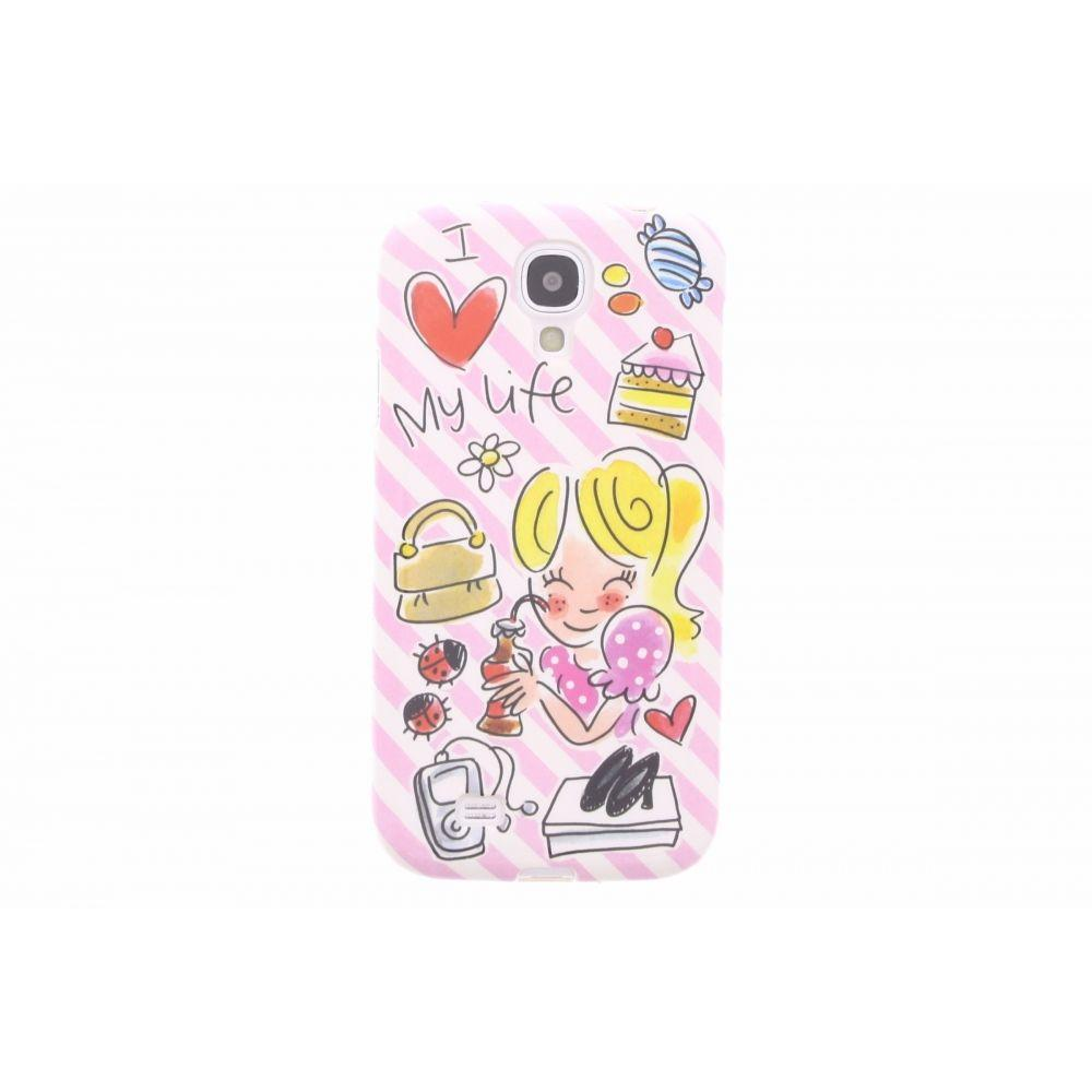 Blond-Amsterdam Samsung Galaxy S4 telefoonhoesje I love my life