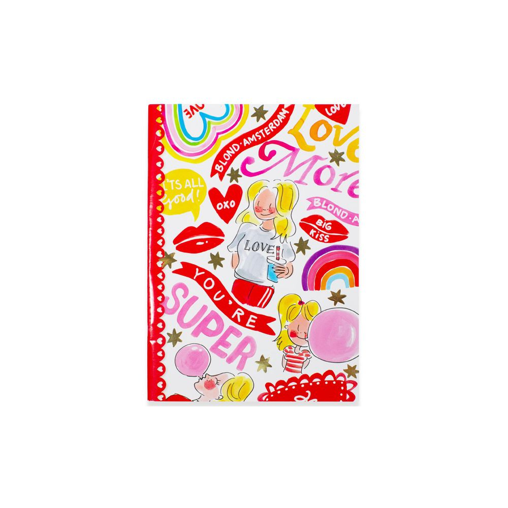 400037-BTS LOVE  21-22- A4 EXERCISE BOOK LINED0