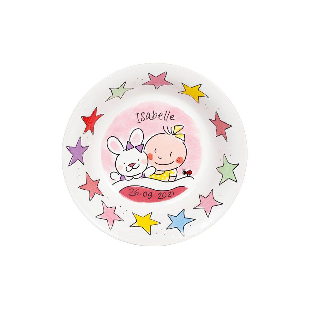 Babybakje meisje sterren bijschrijf