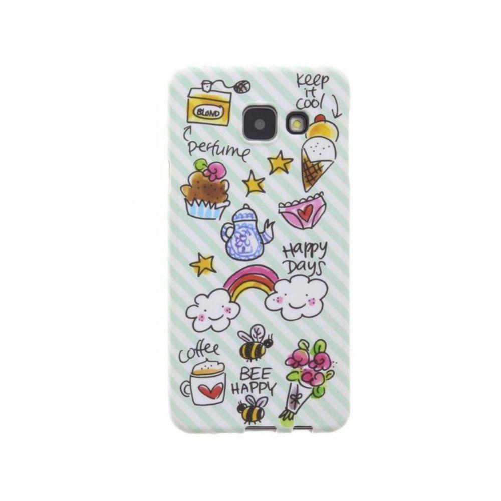 Blond-Amsterdam Samsung Galaxy A3 telefoonhoesje Happy Days