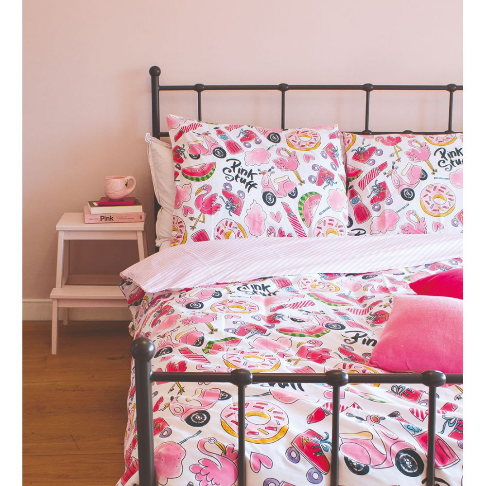 Dekbedovertrek Pink Stuff 2p set 240x220 + 60x70 Blond Amsterdam