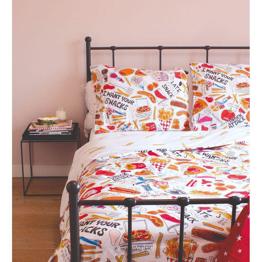 Dekbedovertrek Snack 2p set 240x220 + 60x70 Blond Amsterdam