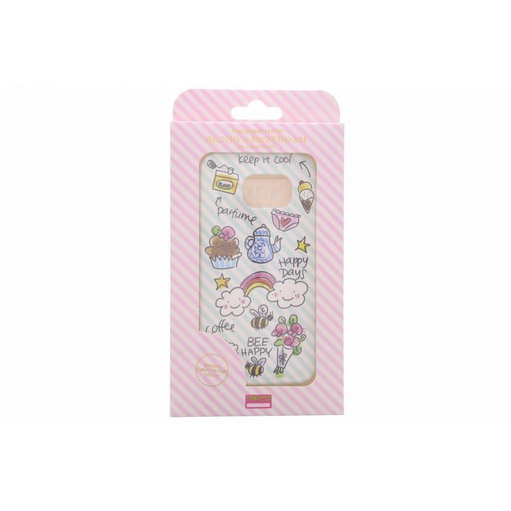 Blond-Amsterdam Samsung Galaxy S6 edge telefoonhoesje Happy Days